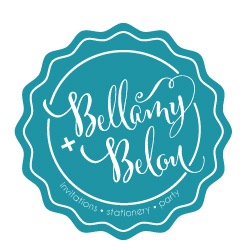 Bellamy + Belou logo